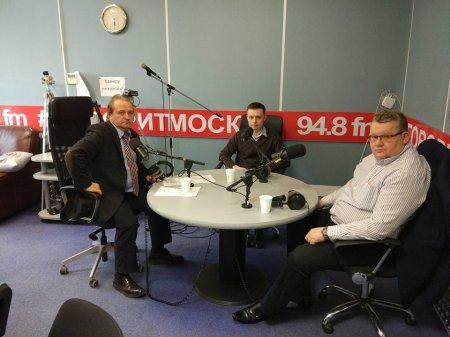 Игорь Драндин на радио Говорит Москва