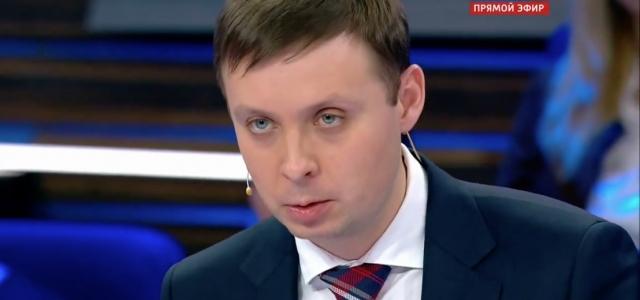 Игорь Драндин на телеканале Россия-1