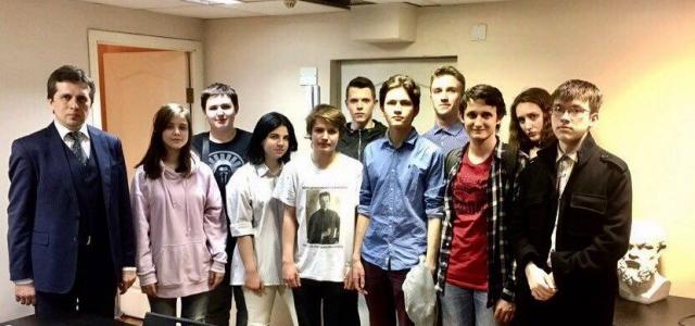 20 мая состоялось собрание московского молодёжного отделения «Демократического выбора»